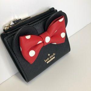 kate spade Bags - NWT Kate Spade Disney Minnie Mouse Adalyn Wallet